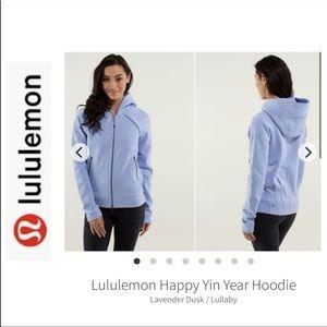 Lululemon Happy Yin Year Hoodie - Lavender - 10